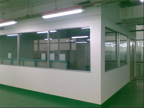Light steel keel partition wall project